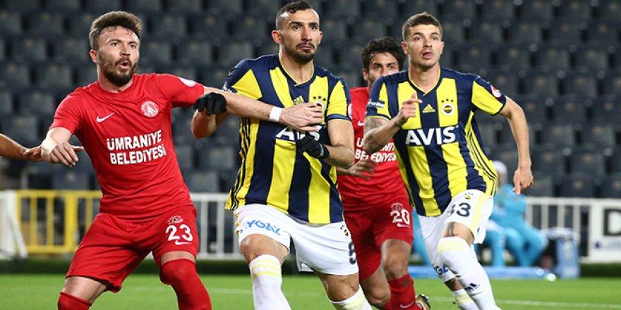 Fenerbahçe, Ümraniyespor'a yenilip kupaya veda etti