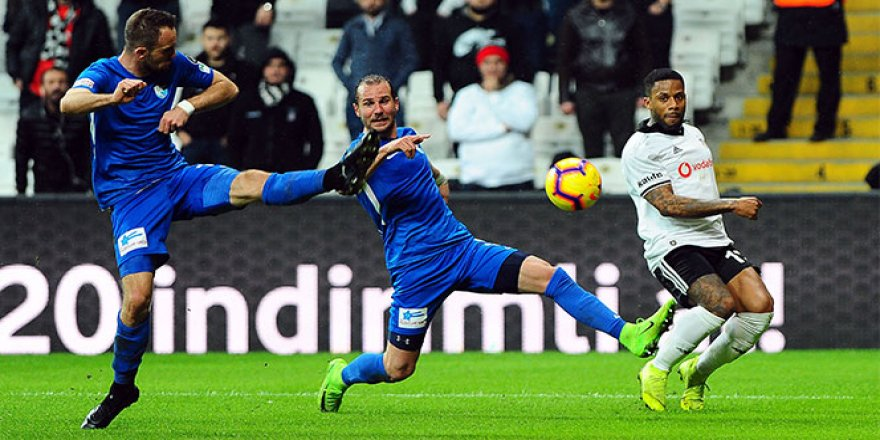 Beşiktaş'ın kanadı kırıldı
