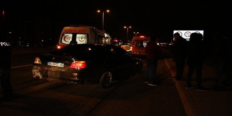 Ankara'daki trafik kazalarında 7 kişi yaralandı
