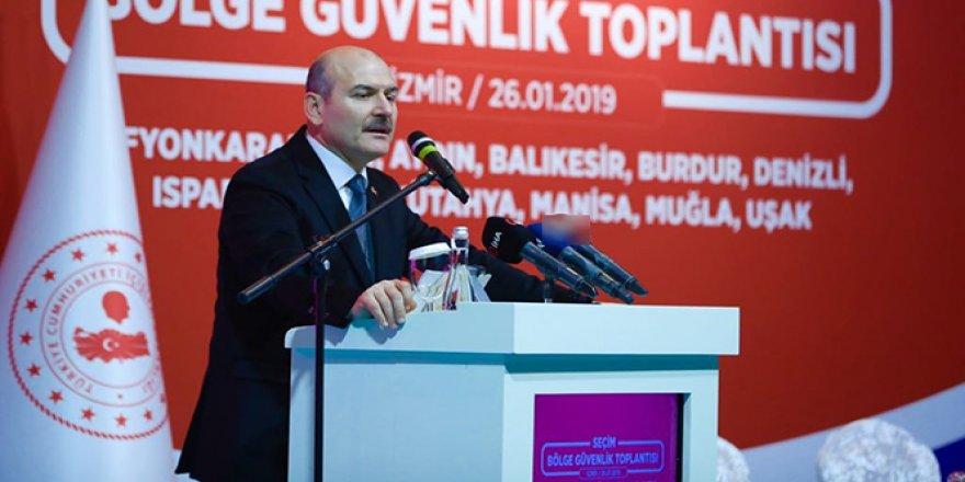 Bakan Soylu'dan seçim güvenliğine ilişkin önemli açıklamalar yaptı