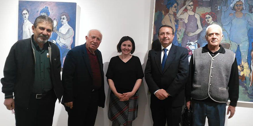 Zeki Serbest 91. kişisel sergisini BRHD Sanat Galerisi'nde Açtı