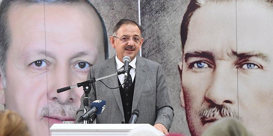"""Mehmet Özhaseki'den """"Vefalı konuşma"""""""