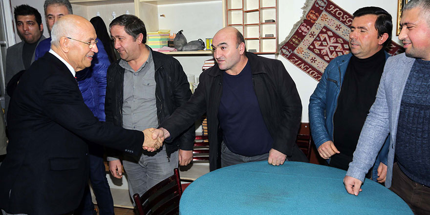 """Fethi Yaşar, """"Yenimahalle'yi hemşerilerimle yönetiyoruz"""""""