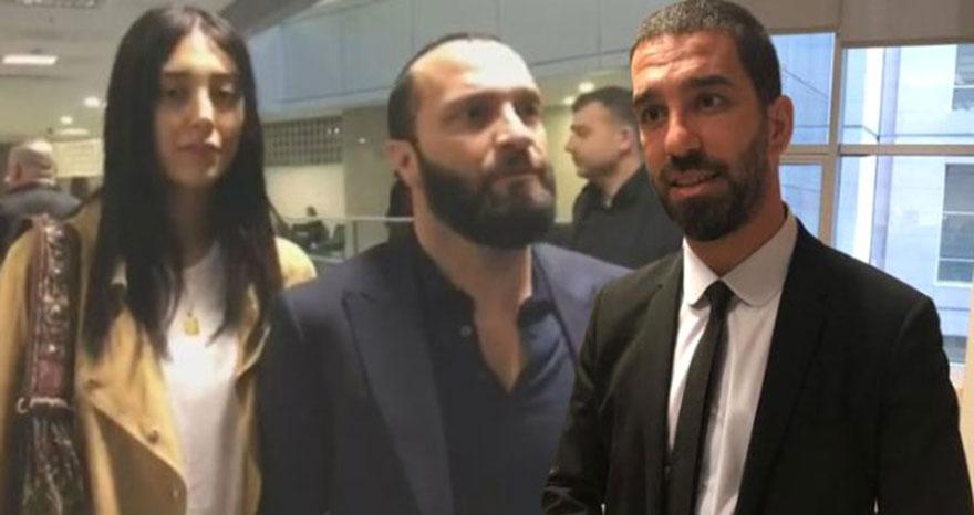 Arda Turan ve Berkay davasının ilk duruşması sona erdi