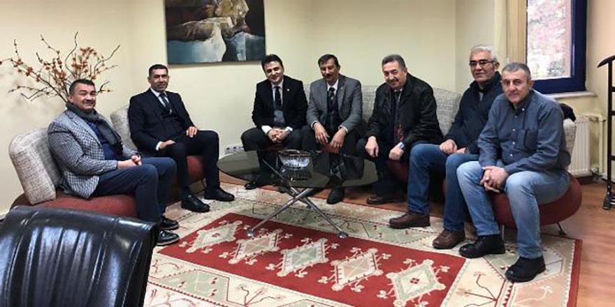 Amatörlerden TSYD Ankara Şubesi Başkanı Doğru'ya ziyaret