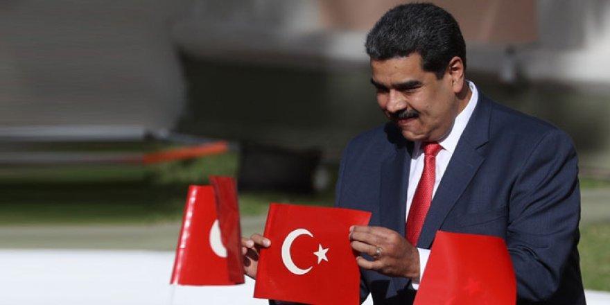 Maduro'dan Erdoğan'a mesaj var