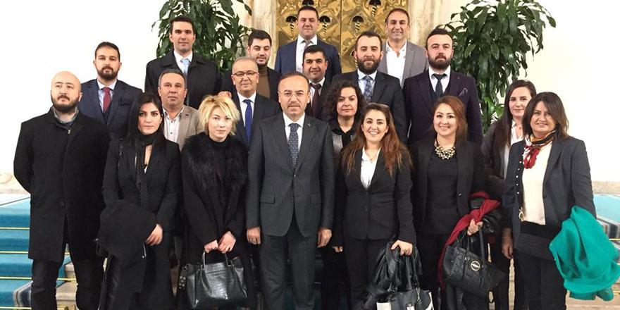 40 Fikir üyelerinden Turan'a ziyaret