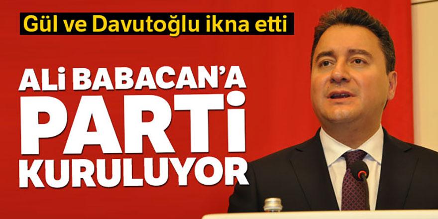 Ali Babacan parti kuruyor iddiası