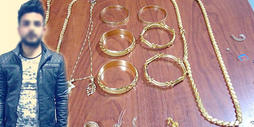 Ablasının 80 bin liralık altınını çaldı