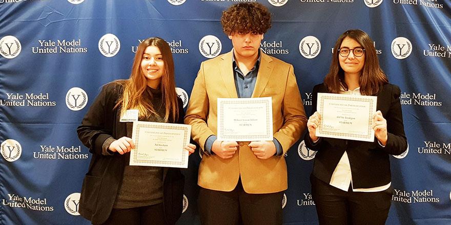 Oya Akın Yıldızlar Anadolu ve Fen Lisesi öğrencileri YALE'de