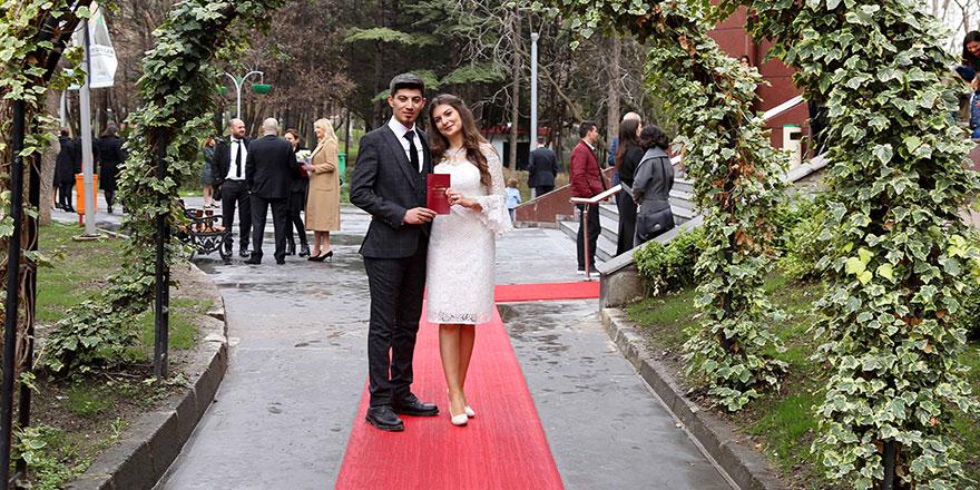 40 bin Çankayalı 14 Şubat'ta evlenecek