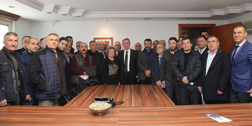 Mansur Yavaş'tan muhtarlara destek sözü