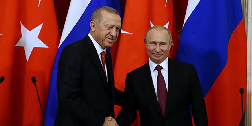 Cumhurbaşkanı Erdoğan ve Putin'den net mesaj