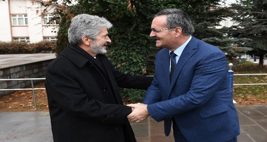 Mustafa Tuna, Çubuk ilçesini ziyaret etti.