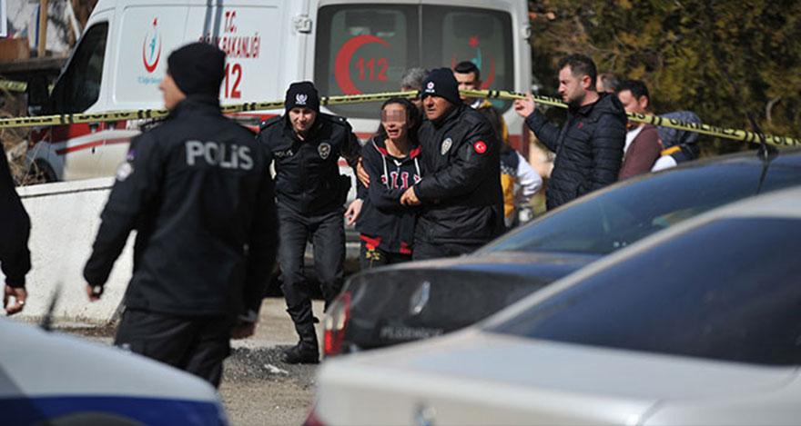 Ankara'da koca vahşeti