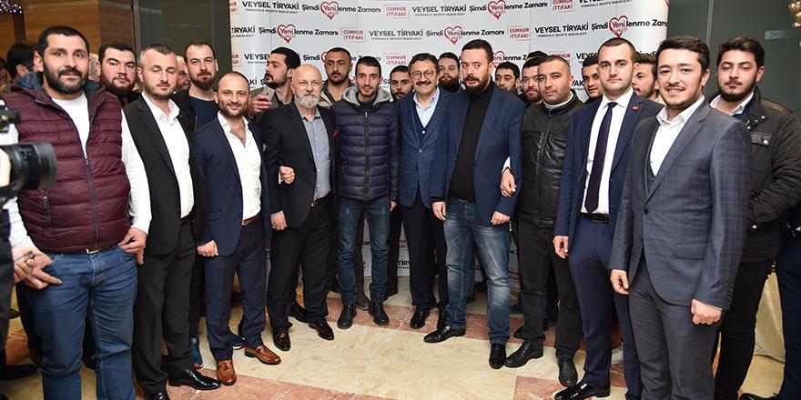 Ülkücü camiadan Veysel Tiryaki'ye tam destek