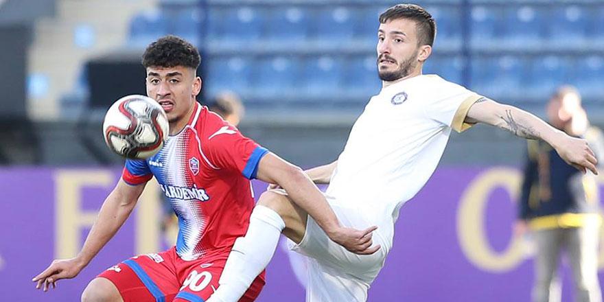 Osmanlıspor üçlük attı: 3-0