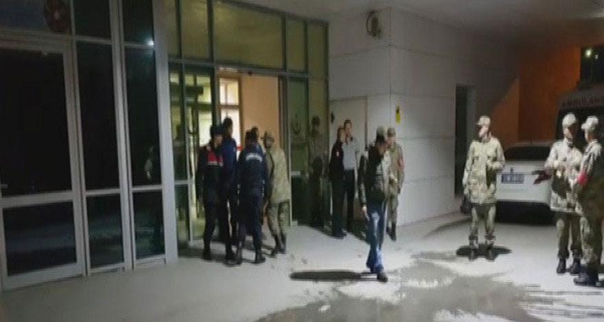 Ankara'da askeri eğitim sırasında kaza: 5 asker yaralı