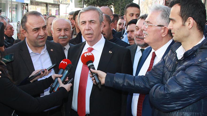 Mansur Yavaş'tan Özhaseki hakkında suç duyurusu
