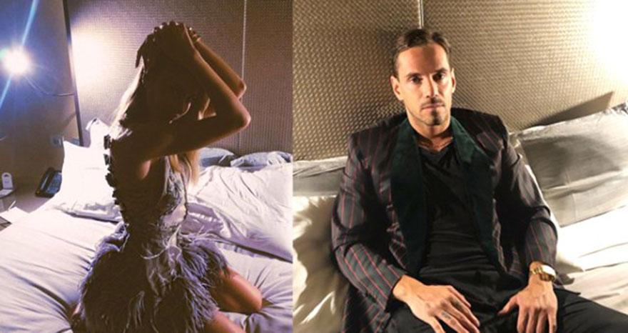 Şeyma Subaşı'dan sevgilisi ile yatak pozu verdi
