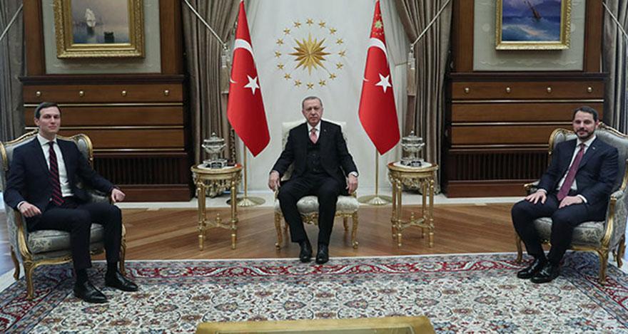 Trump'ın damadı Kushner Ankara'da