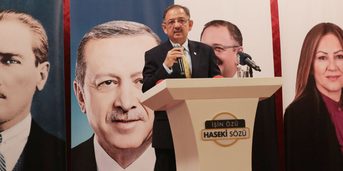 Mehmet Özhaseki: Proje açıklamak yerine, polemik peşindeler
