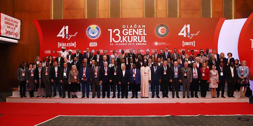 HİZMET-İŞ'ten uluslararası işbirliği