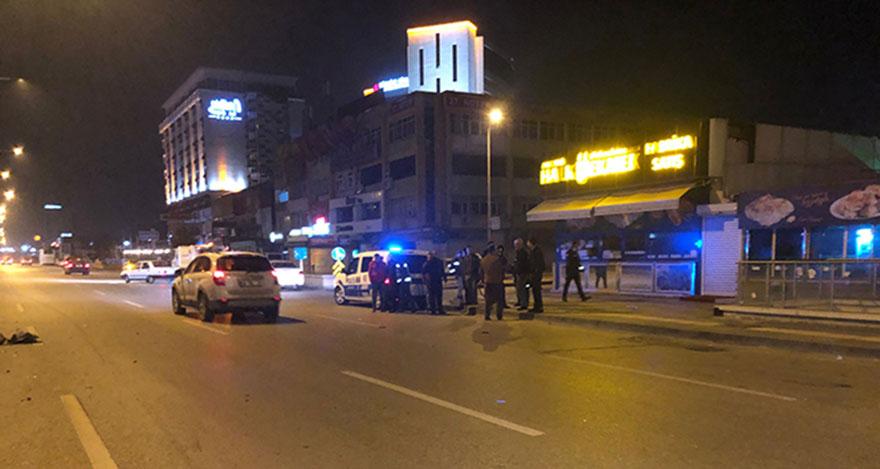 Ankara'da aynı yerde 2 kaza: 1 yaralı