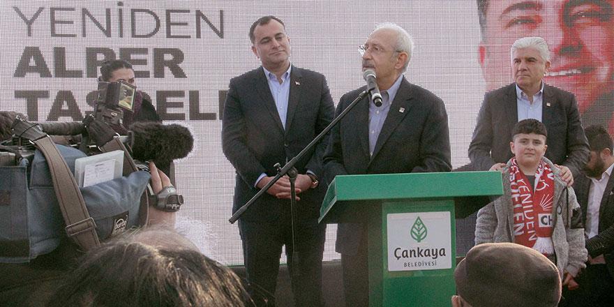 Kılıçdaroğlu park açtı destek istedi