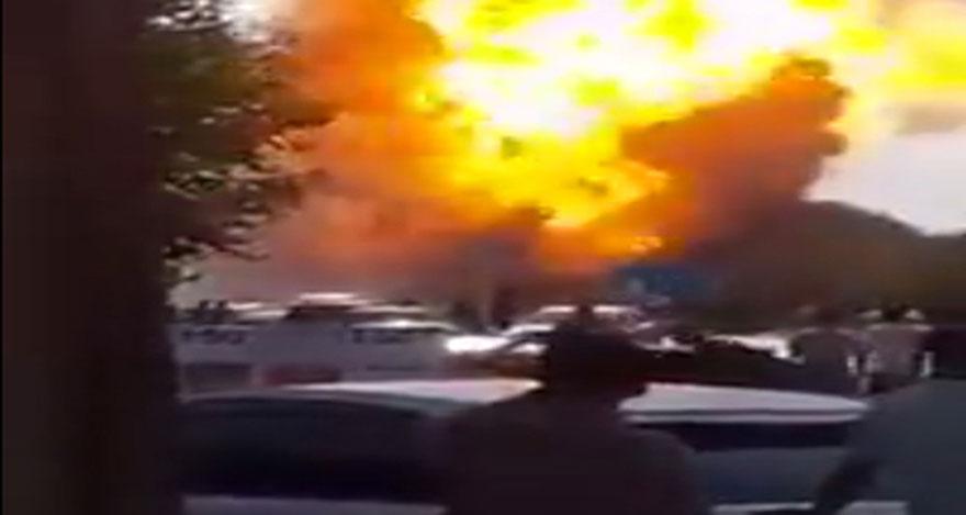 Petrol boru hattındaki patlamada 12 kişi öldü
