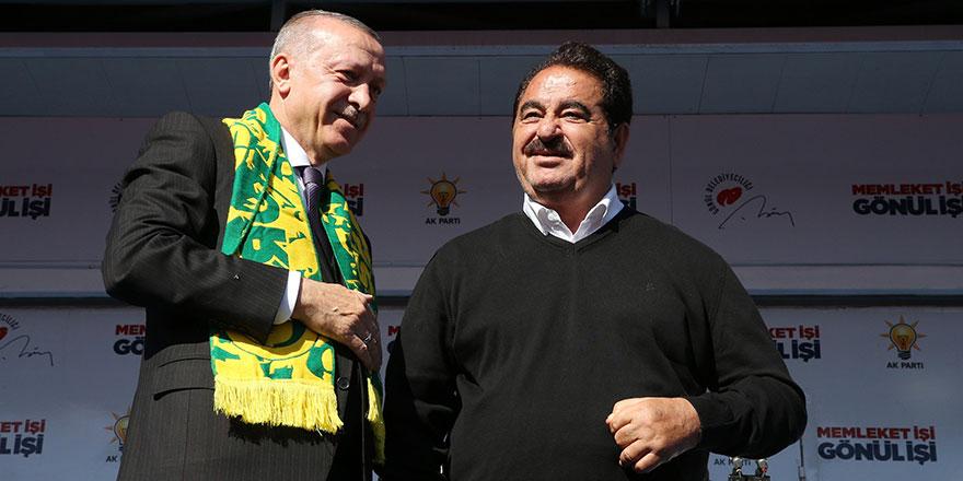Erdoğan'dan İbrahim Tatlıses sürprizi