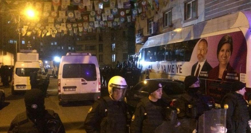 HDP'ye operasyon: 7 gözaltı