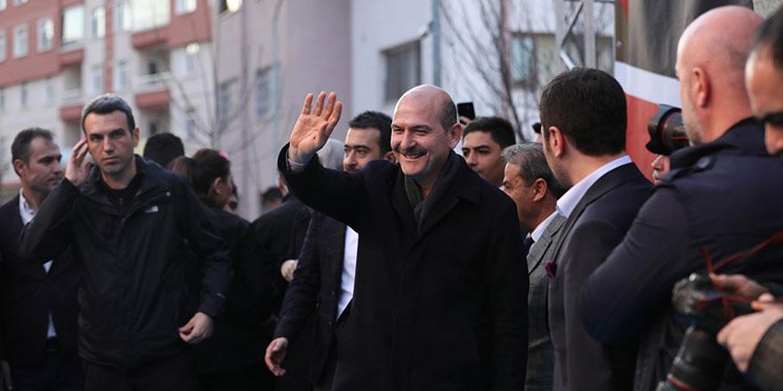 İçişleri Bakanı Soylu Kahramankazan'da