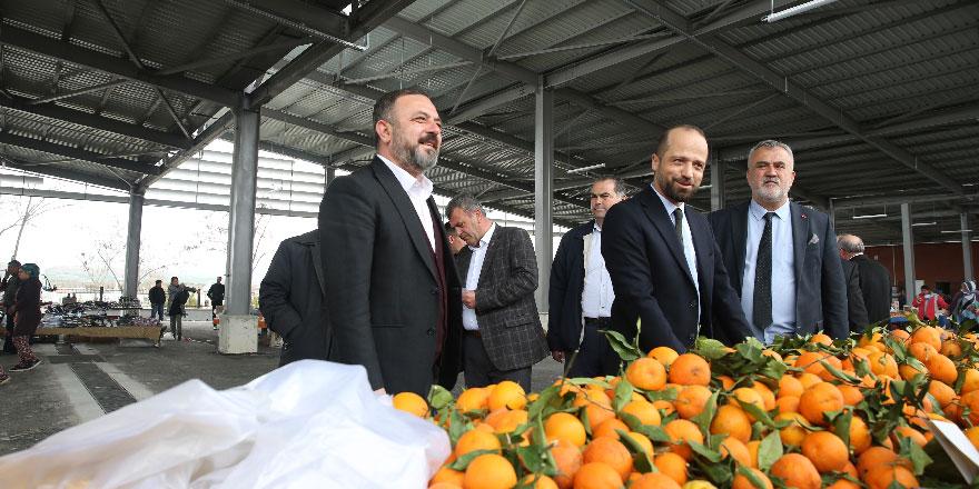 Başkan Murat Ercan Temelli'yi adım adım dolaştı