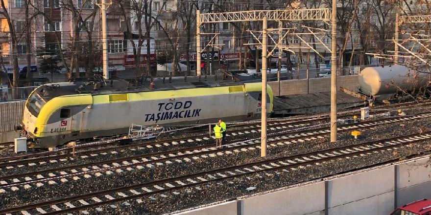 Başkent'te yine tren kazası