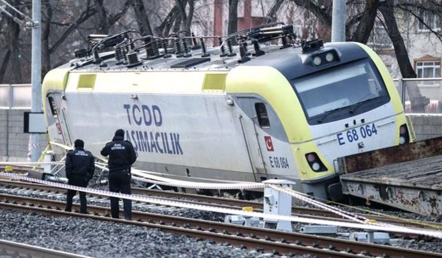 Sincan'daki tren kazasında 2 makinist gözaltına alındı