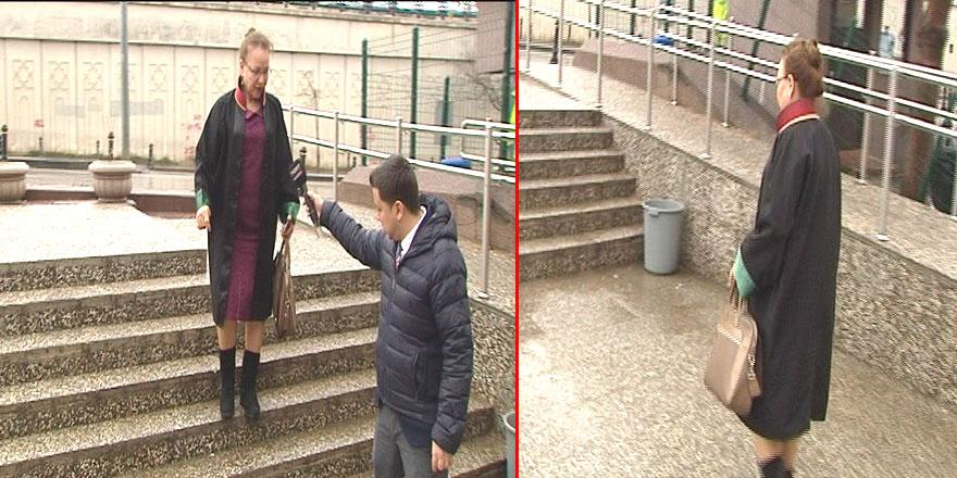 Ankara Adliyesinin merdivenleri davalık oldu