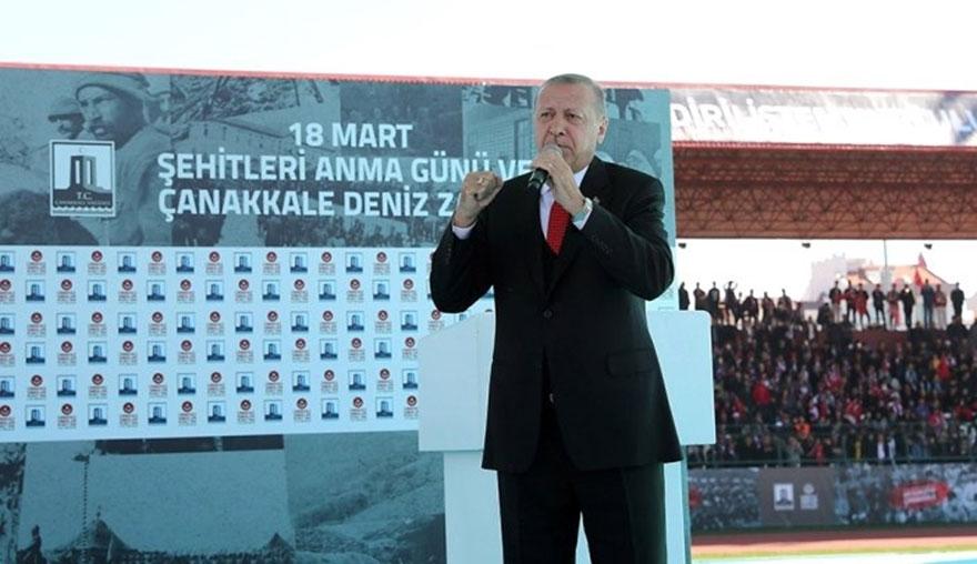 Erdoğan: Kıyamete kadar burada olacağız