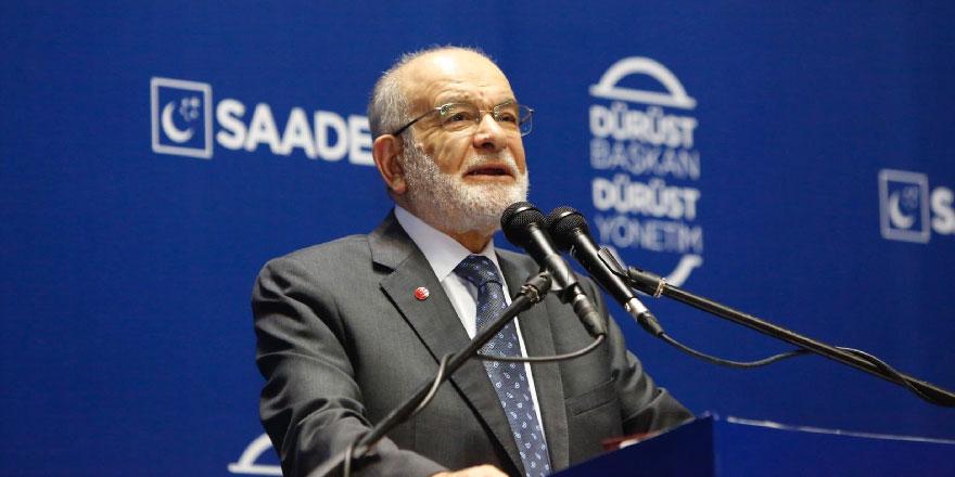 Karamollaoğlu'ndan AK Parti'ye sert eleştiri