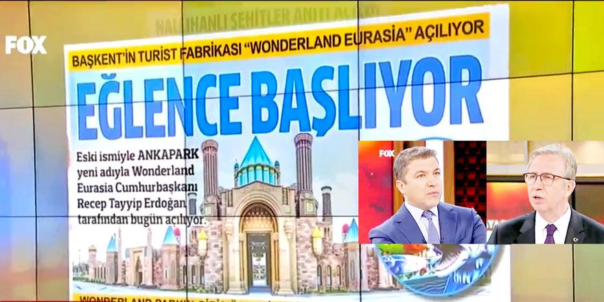 """Ankara'nın gündemini """"ANADOLU"""" belirledi"""