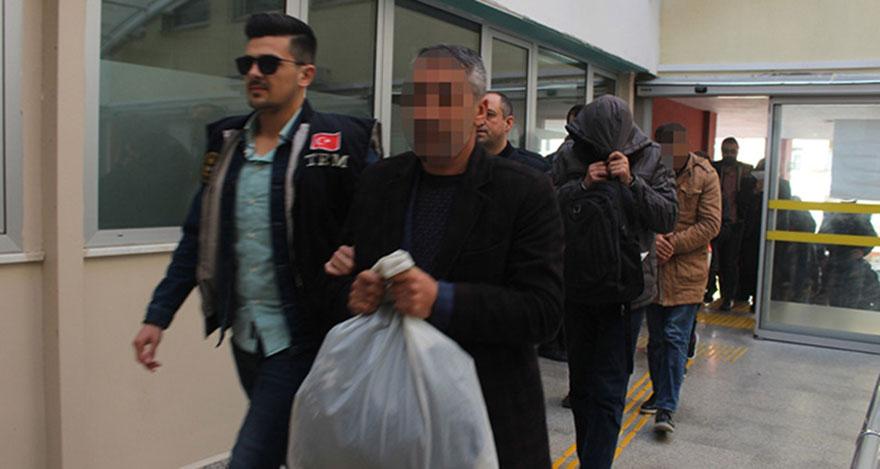 HDP ilçe başkanı PKK propagandasından tutuklandı