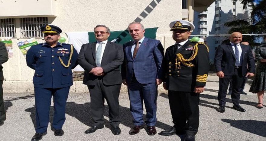 Pakistan Milli Günü Ankara'da kutlandı