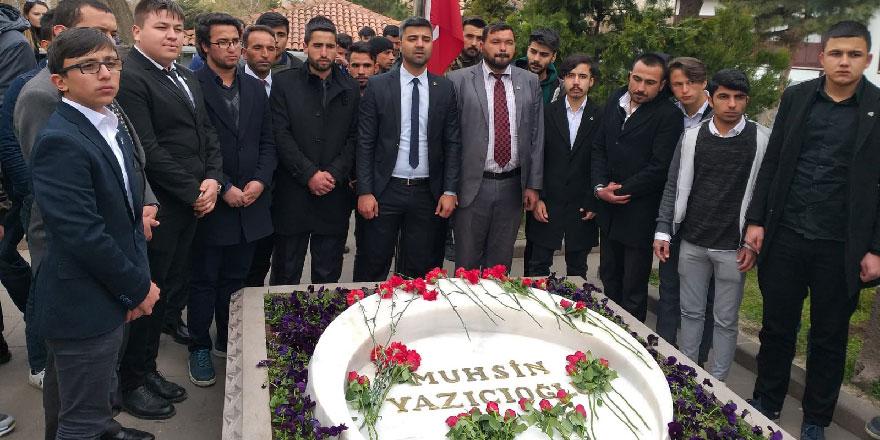 Muhsin Yazıcıoğlu unutulmadı