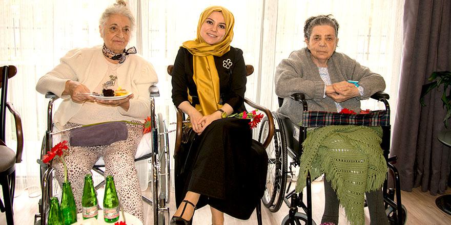 Yaşlılar haftasında vefalı ziyaret