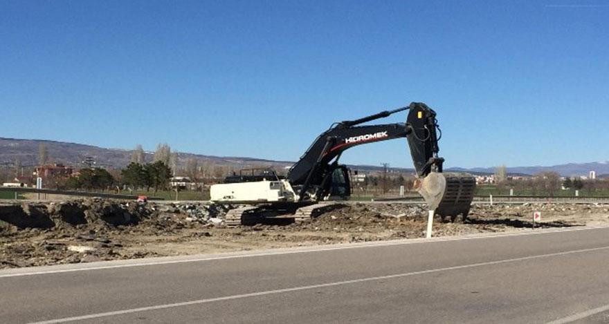 Kahramankazan-Ankara yolu genişletme çalışmaları başladı