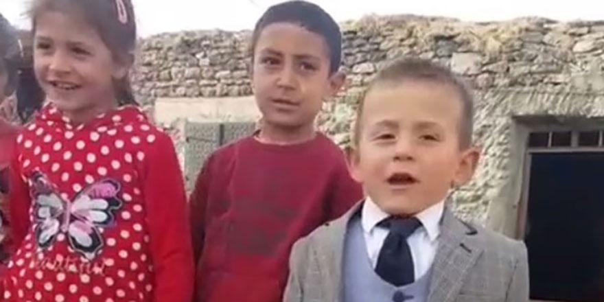 5 yaşındaki muhtar adayından ikinci video