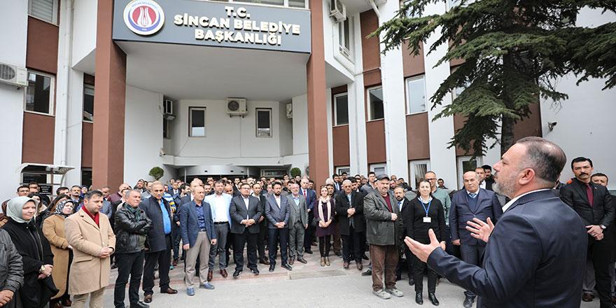 Başkan Ercan'la yeniden Sincan
