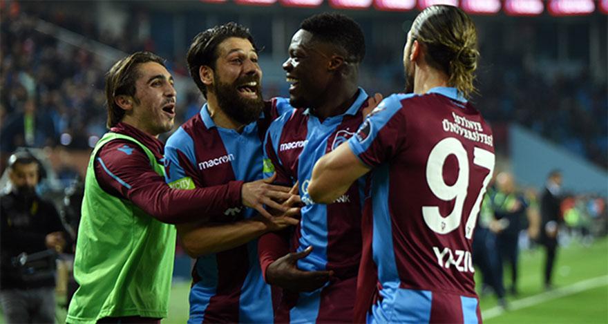 Tranzonspor, Antalyaspor'u 4 gölle devirdi
