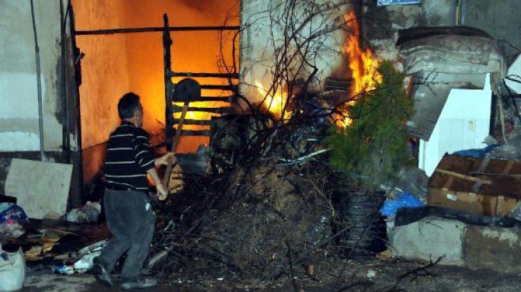 Yozgat'ta korkutan yangın! Kül oldu