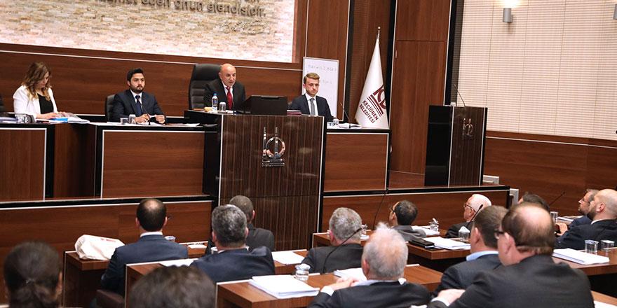 Altınok ilk meclis toplantısında önemli mesajlar verdi